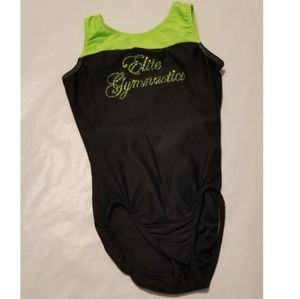 Elite gymnastics leotard